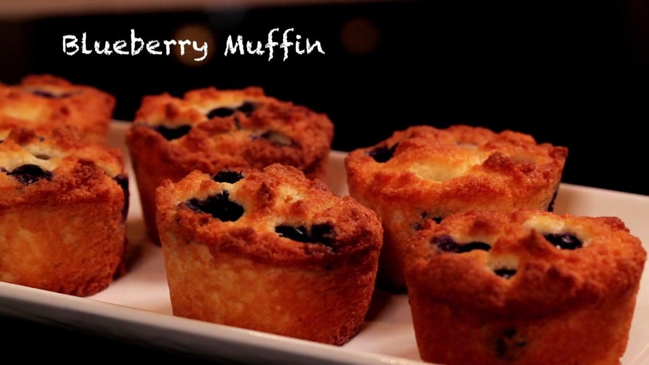 Ketogenic Blueberry Muffin