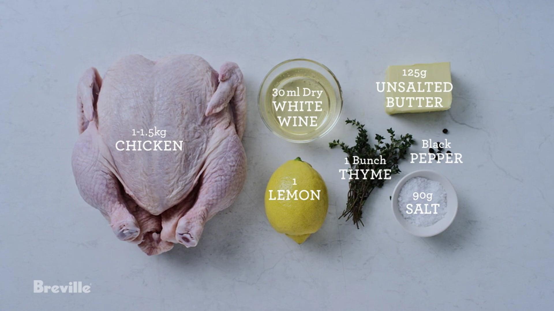Heston for Breville- Chicken