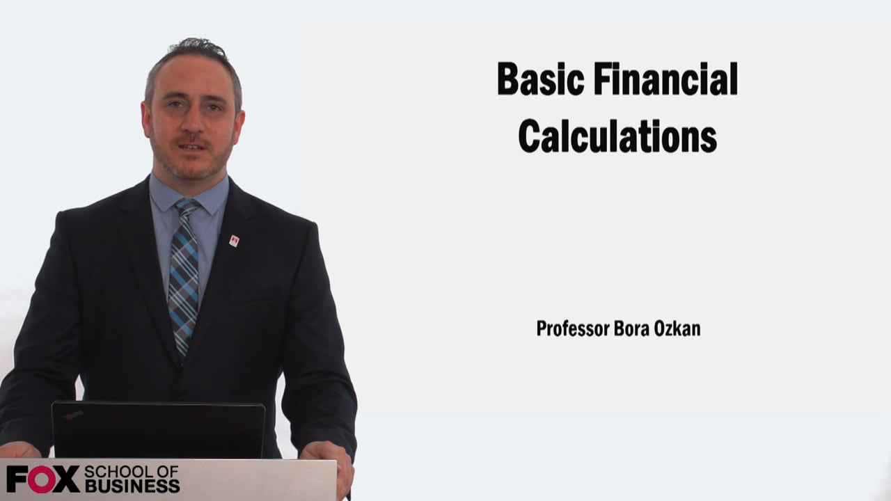 58920Basic Financial Calculation – pt.1