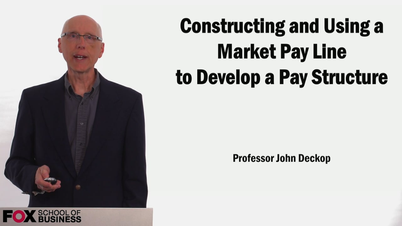 58900Constructing and Using a Market Pay Line to Develop a Pay Structure