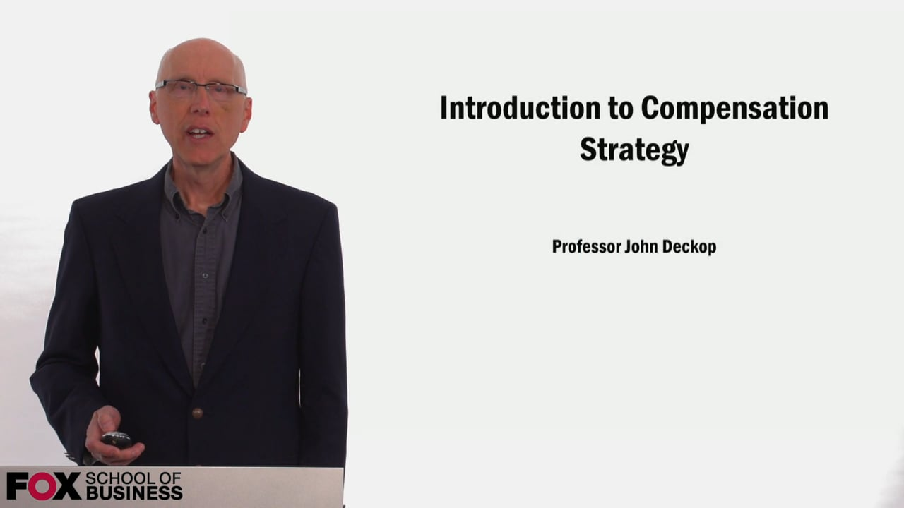 58896Introduction to Compensation Strategy