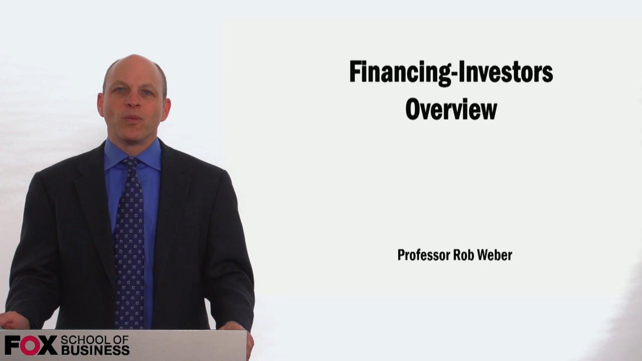 58954Financing: Investors Overview