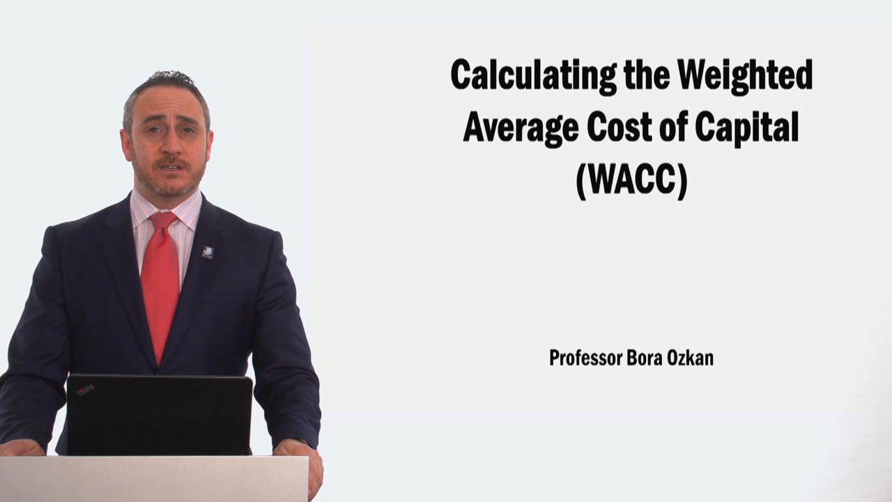 58905Calculating the Weighted Average Cost of Capital