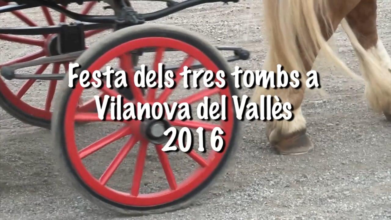 TresTombs a Vilanova del Vallès