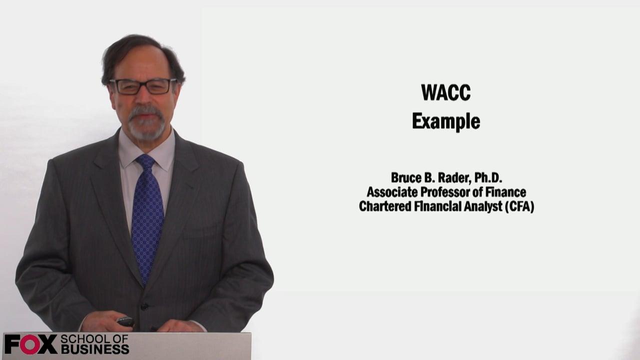 58969WACC Example