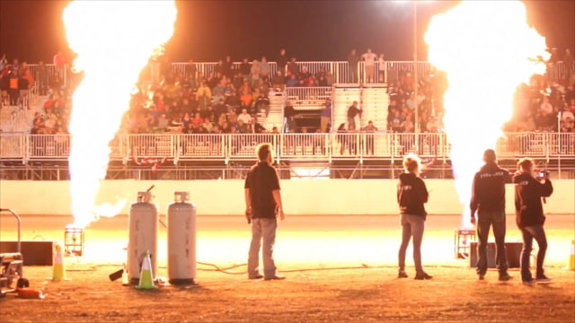 AMA Pro Race - Flame & Pyrotechnic Effects