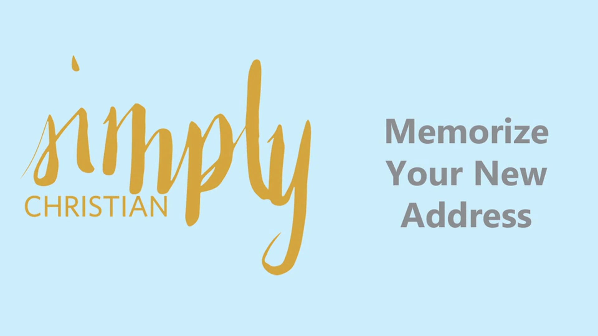 Simply Christian // Colossians 2-4: Week 3