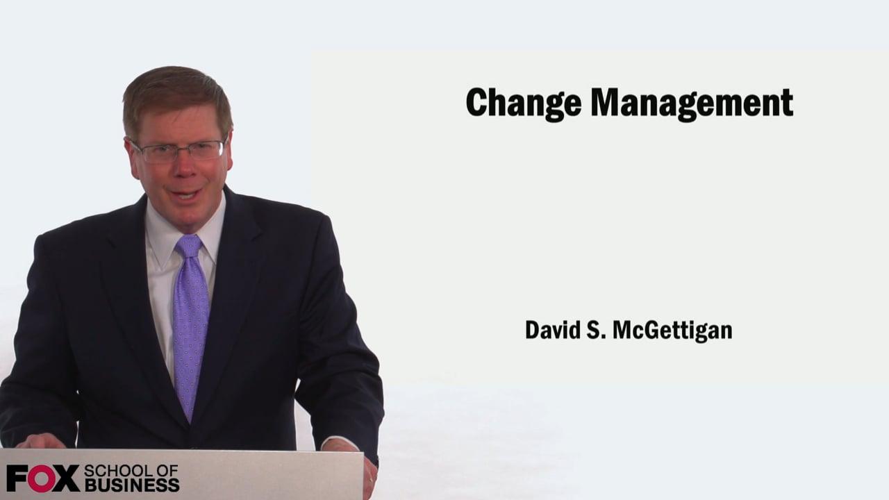 58910Change Management