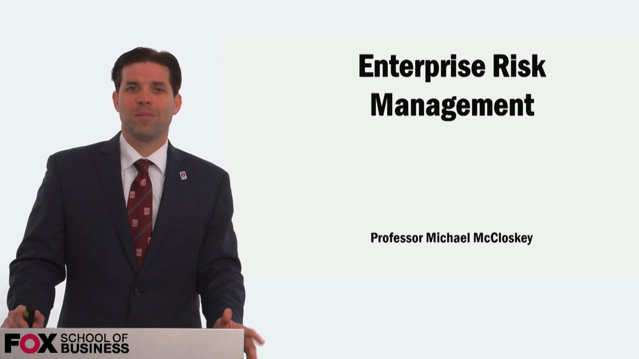 58925Enterprise Risk Management