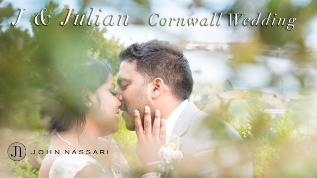 J & Julian - Cornwall Wedding - Highlights