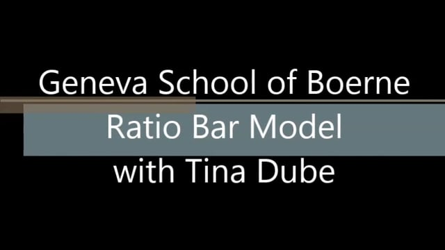 Ratio Bar Model