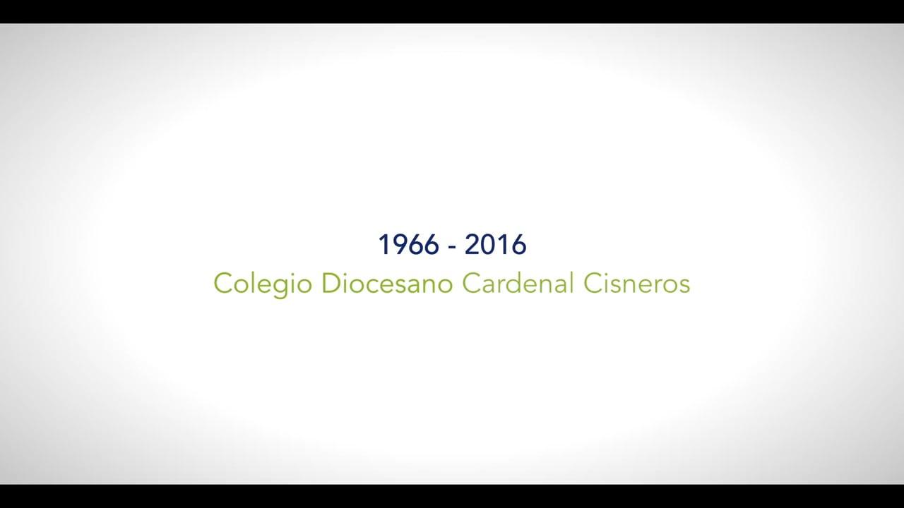 50 años del Colegio Diocesano Cardenal Cisneros