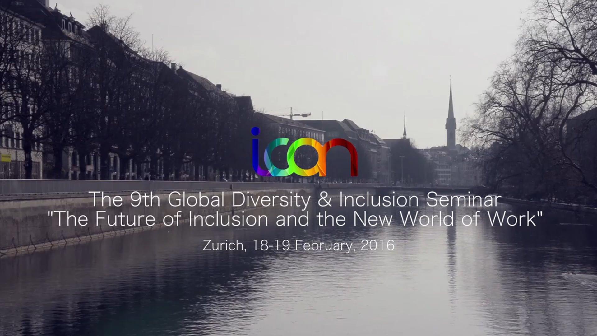 ICON Diversity & Inclusion Seminar, 2016
