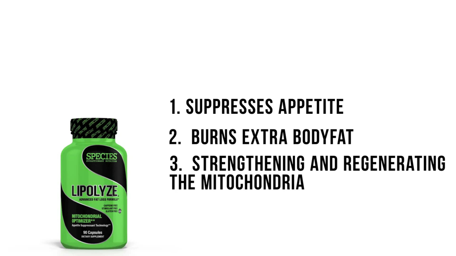 Dave Palumbo Discusses LIPOLYZE (Day Time Fat Burner) by SPECIES Nutrition