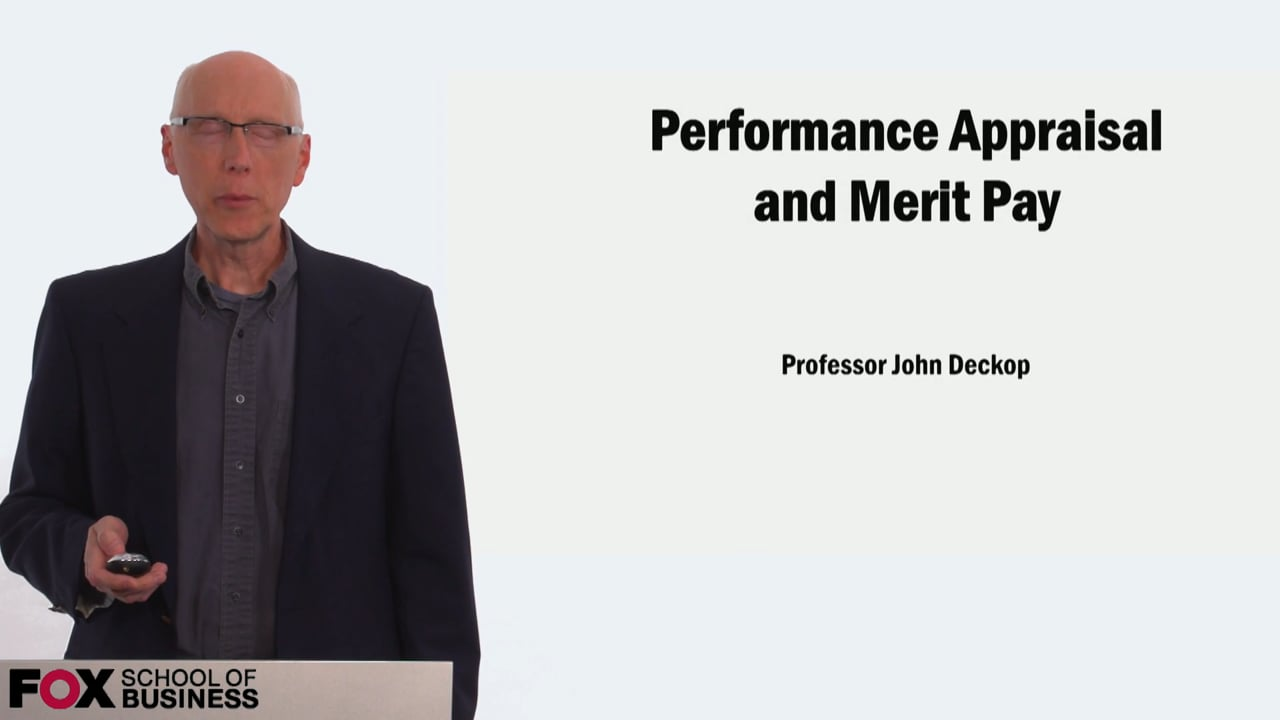 58902Performance Appraisal and Merit Pay