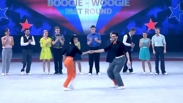 Хитрук Николай и Хавторина Евгения - Moscow World Masters 2015, fast