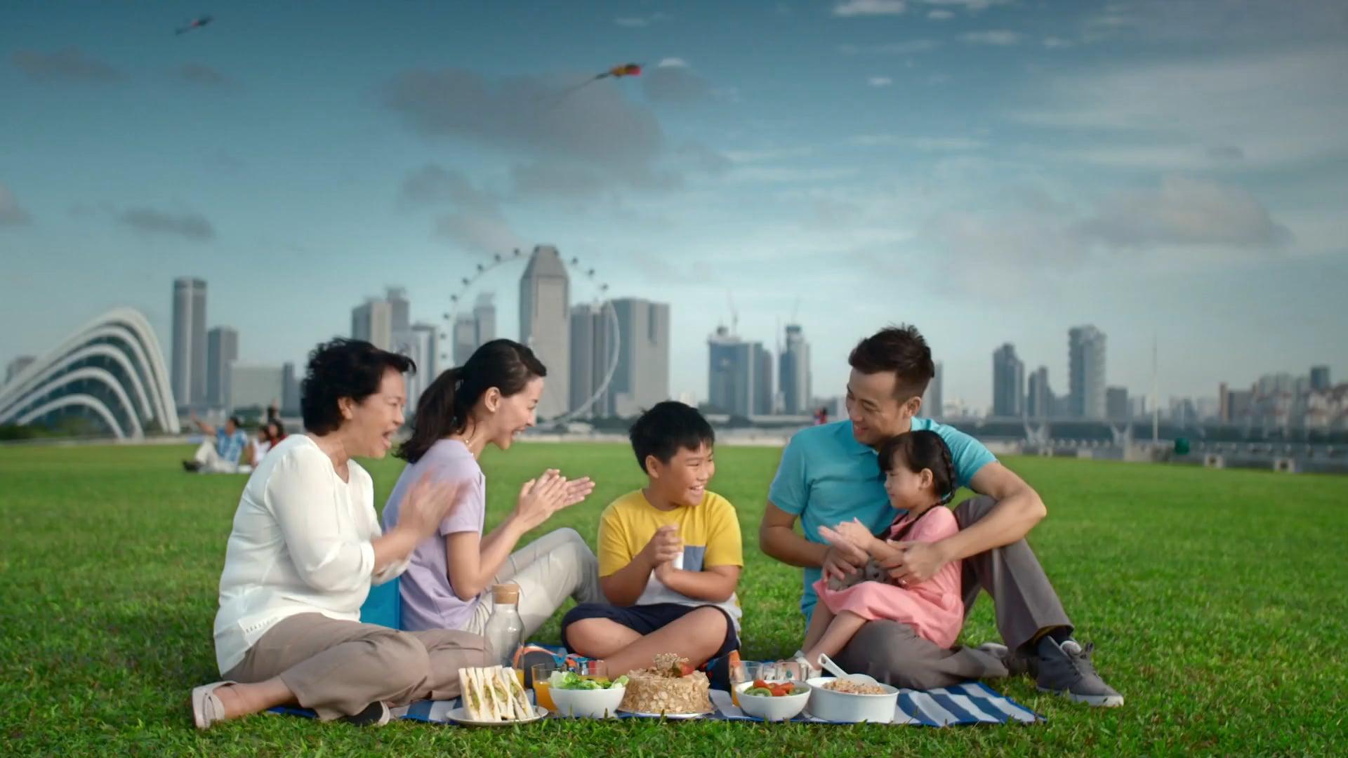 NEA - Keep Singapore Clean TVC - Family