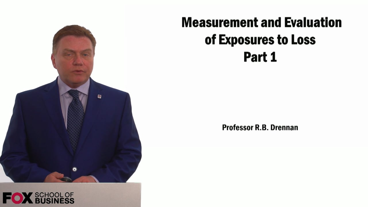 59010Measurement & Evaluation of Exposure to Loss Pt.1