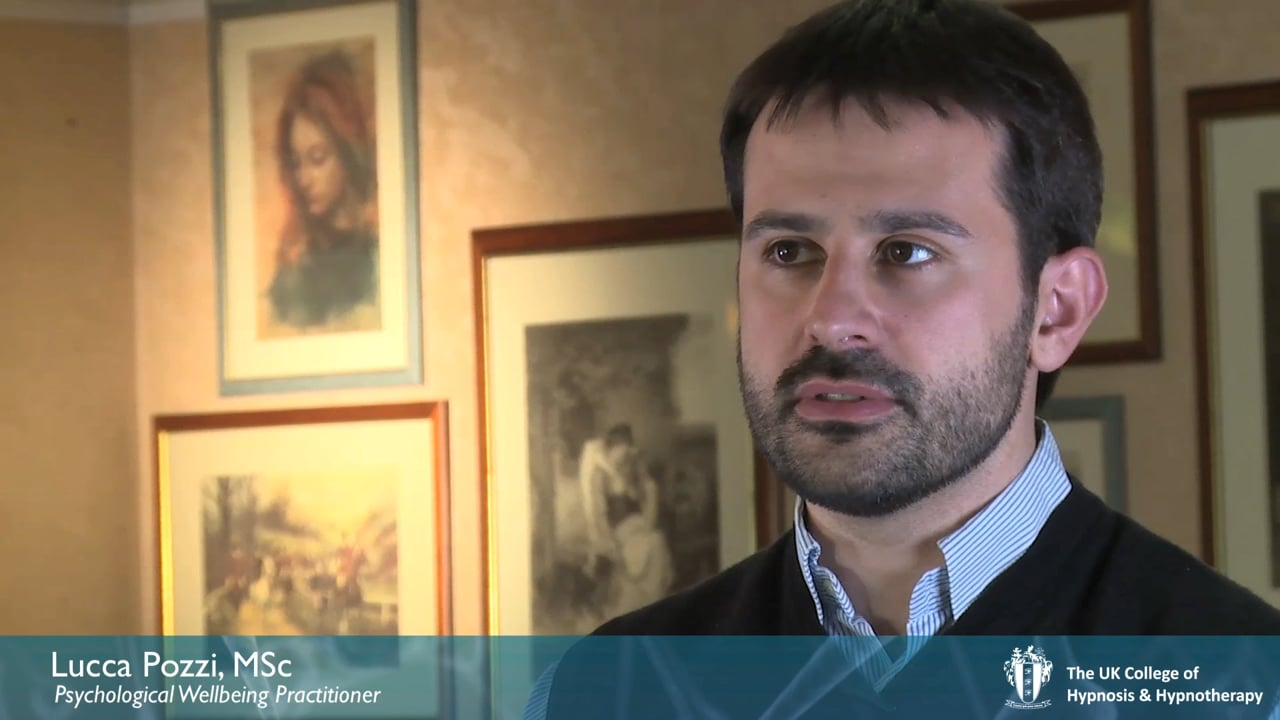 Interview: Lucca Pozzi, NHS Psychological Well-Being Practitioner