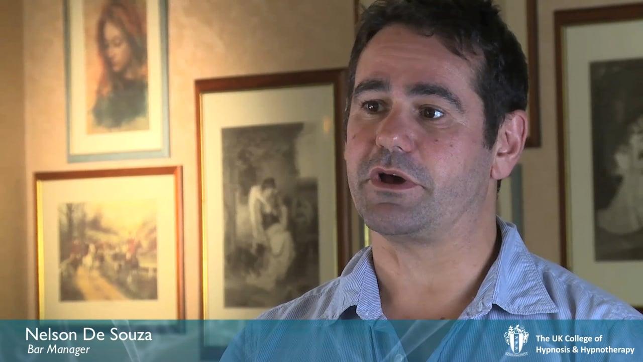 Nelson DeSouza: Bar Owner, retraining as a hypnotherapist