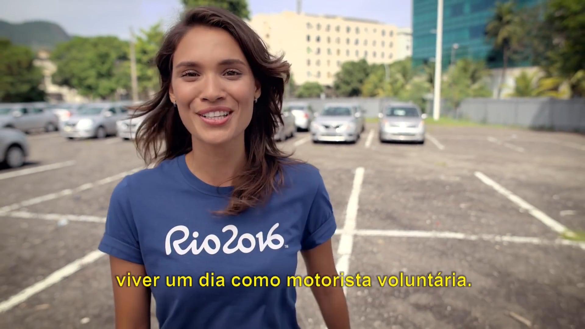 Pilotos dos Jogos - Voluntários Rio 2016