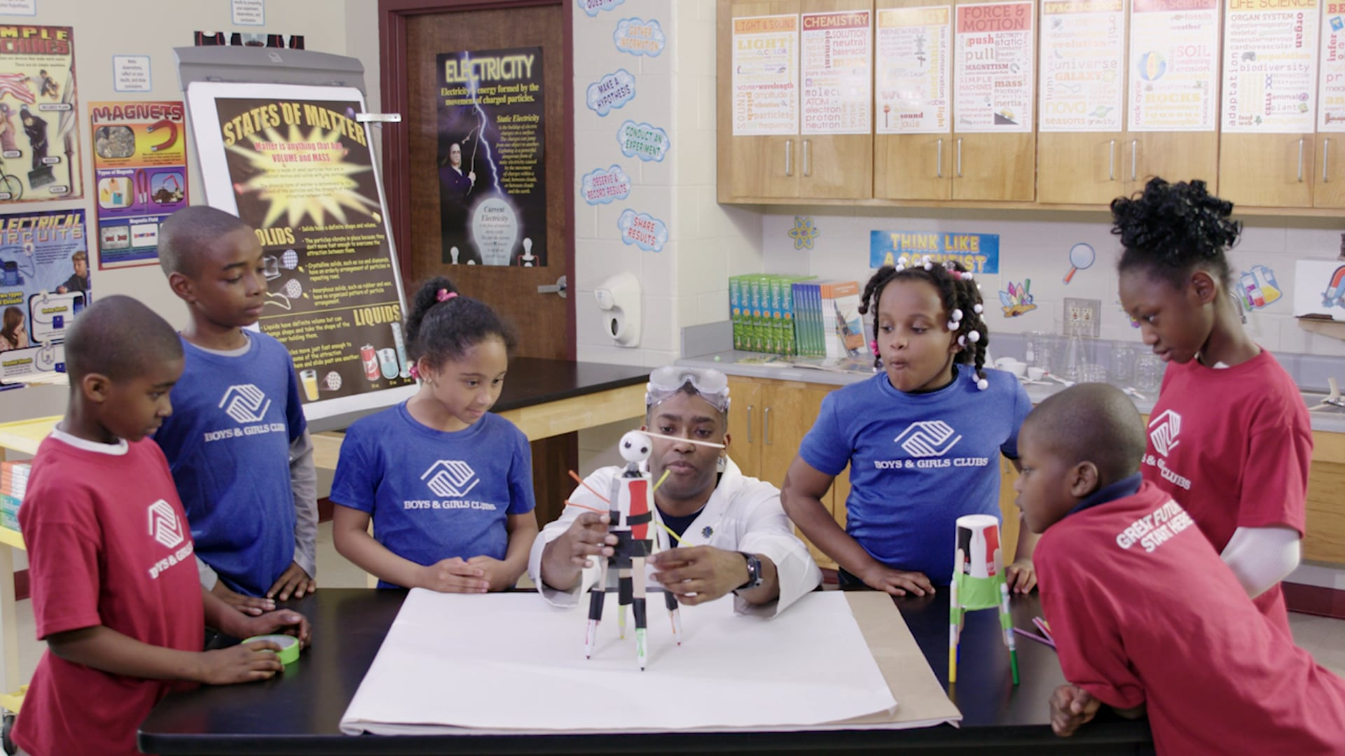 Boys & Girls Clubs: STEM ENERGY & ELECTRICITY (2016) Directed by Jose A. Acosta.