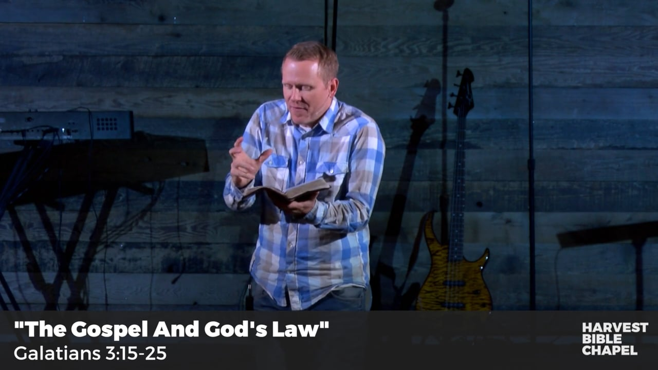 The Gospel And God's Law