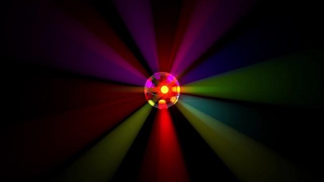light effect, disco ball, party