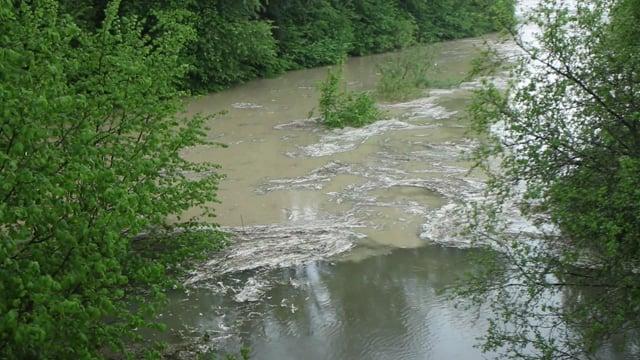 Hochwasser Thur am 13.5.16