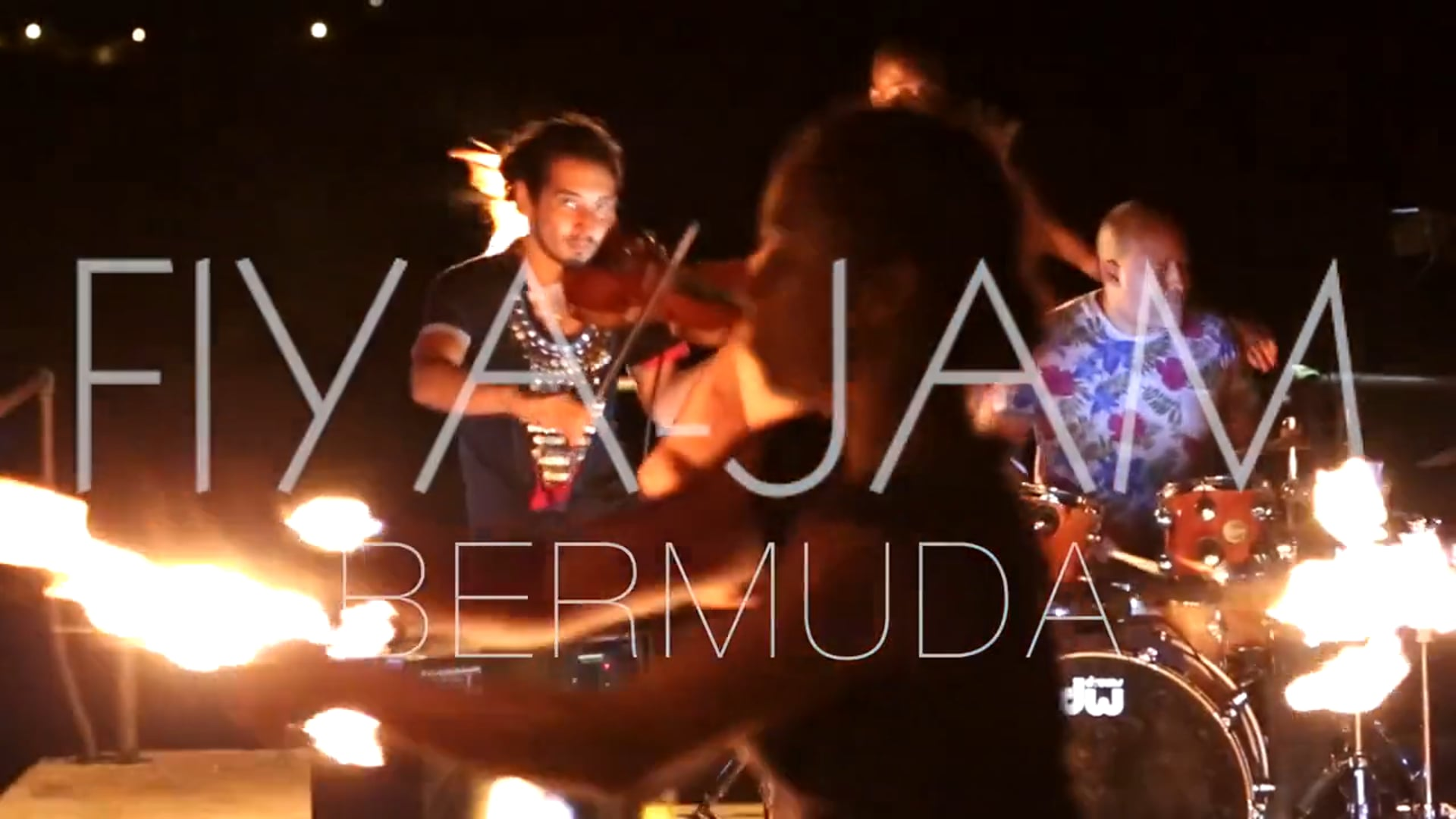 FIYA-JAM - Taylor Rankin & his Violin Leroy ft Rockfire Team Pyro