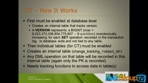 SQL Change Tracking