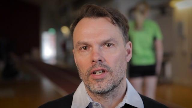Michael Svensson, universitetslektor Idrottsmedicin