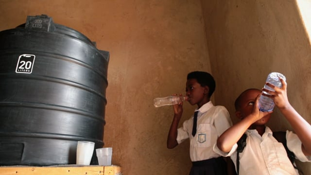 Using local volunteers and supplies, we build and install large-capacity water filters in schools and health clinics. Because healthy kids learn better.