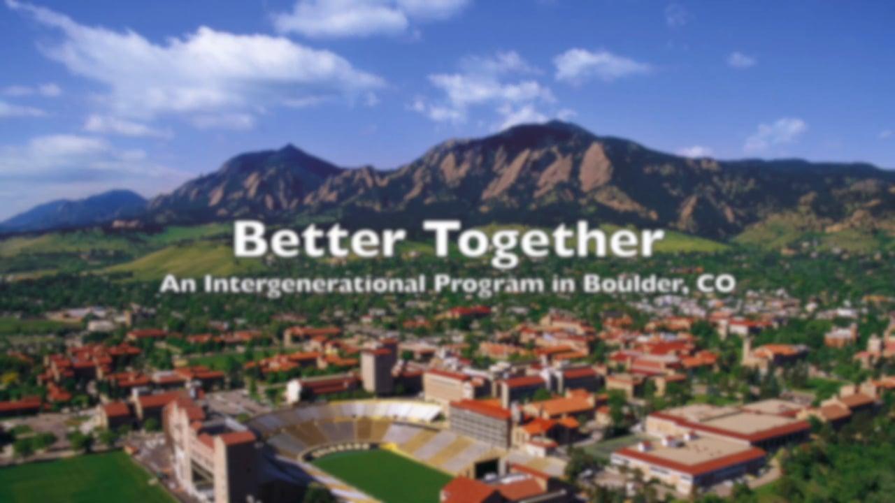 Better Together Boulder 2016