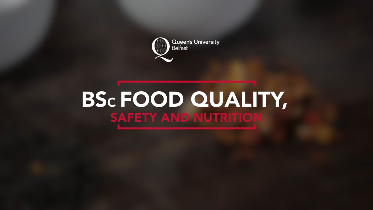 BSC Food Quality, Safety & Nutrition