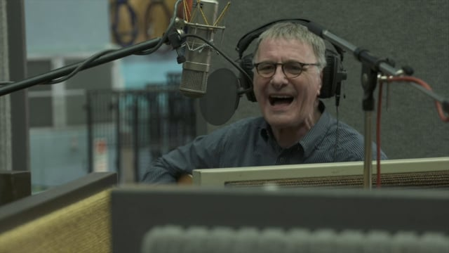 Steve Harley in The Groove at Abbey Road Studios