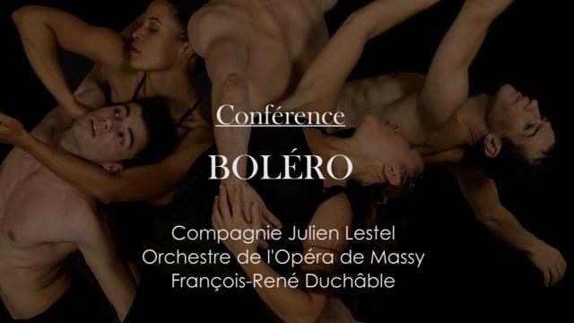 Conférence Bolero