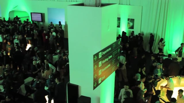 Heineken Like a Champion event at Basketball City in NYC 7/22/13