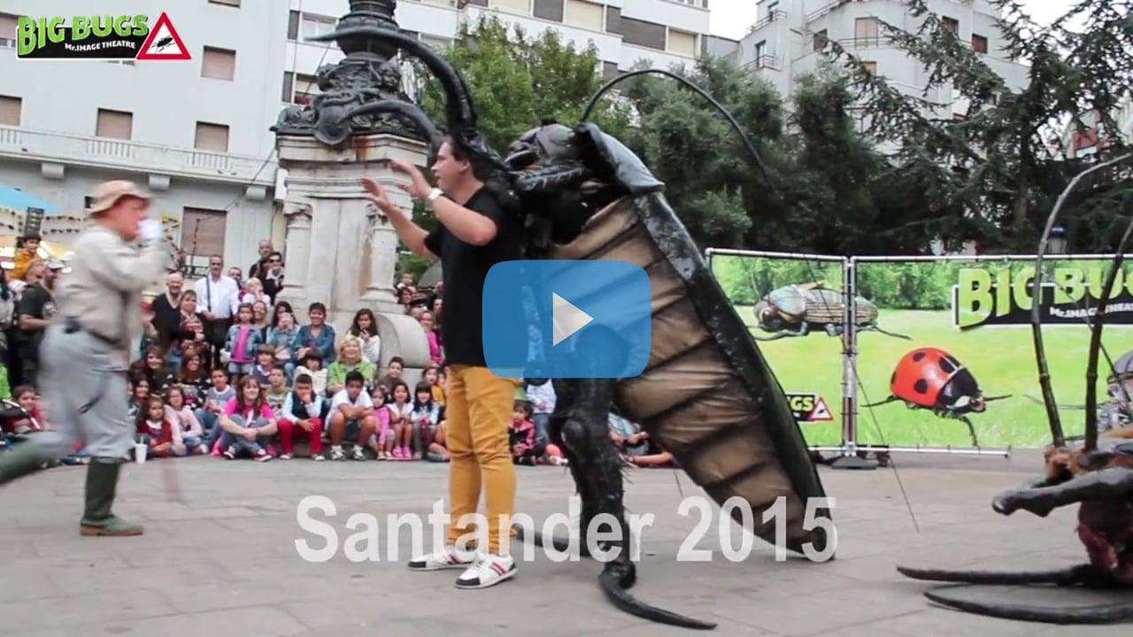 Big Bugs Show at MAF Festival Santander