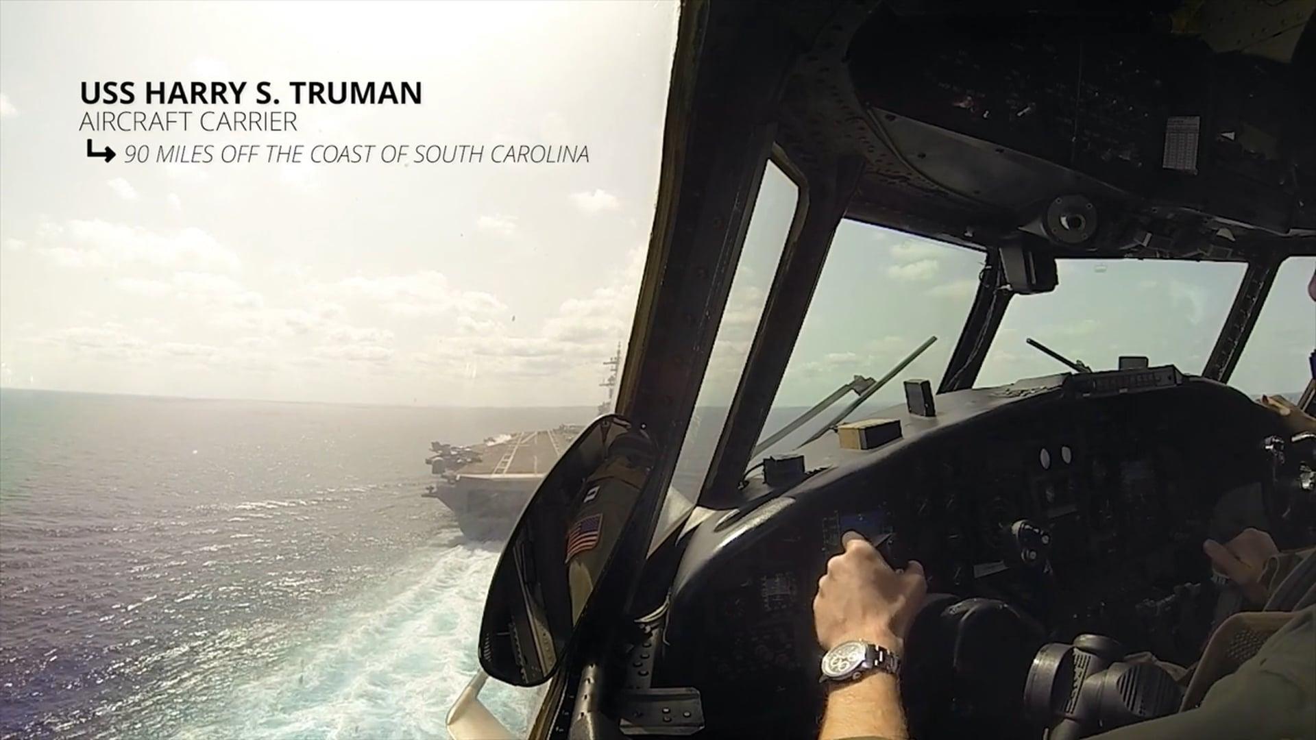 Make-A-Wish Foundation : Aboard USS Harry S. Truman (CVN 75)