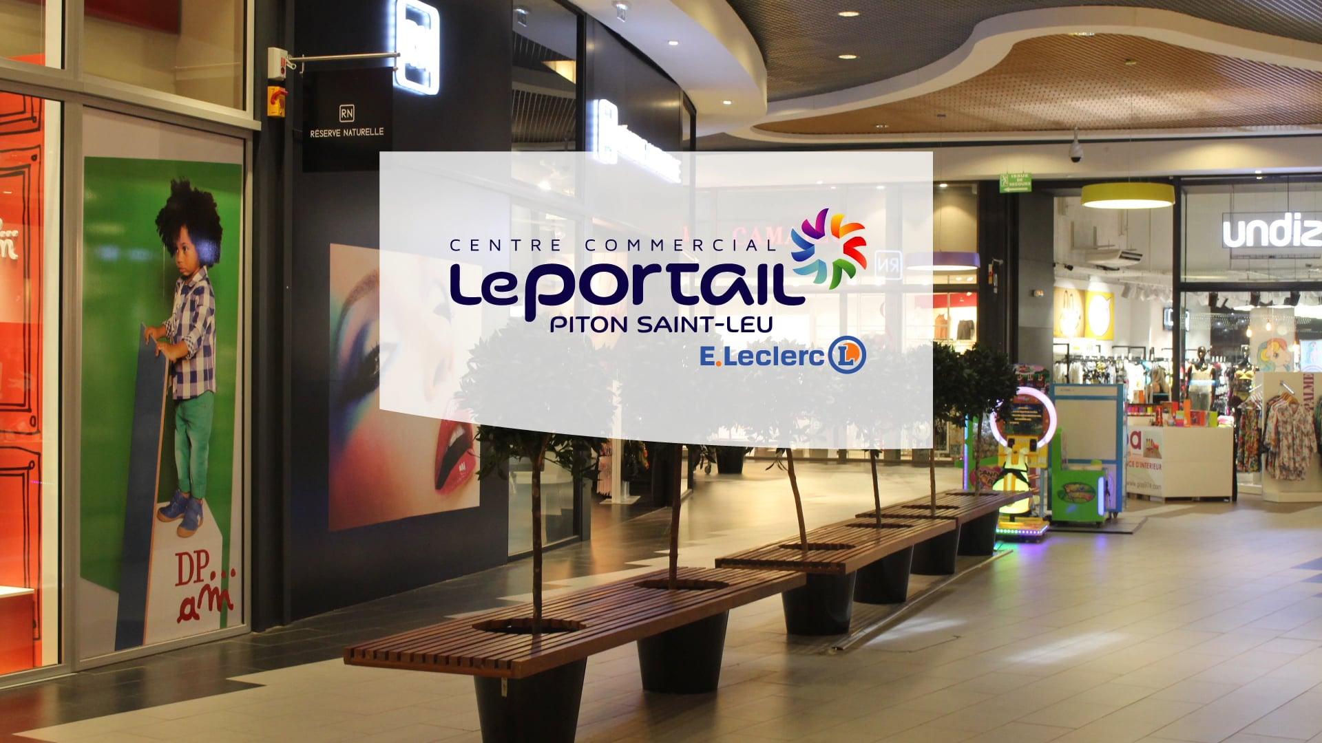 Publicité E.Leclerc Le Portail, La Réunion