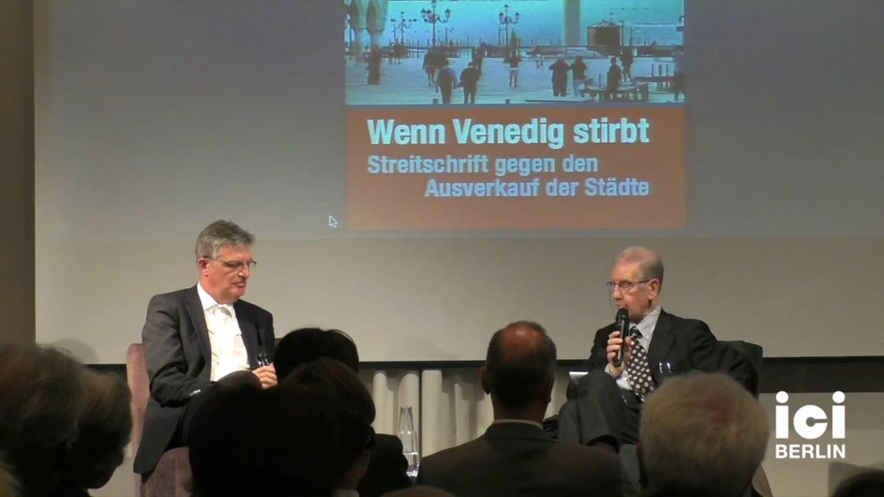 Diskussion mit Salvatore Settis und Lothar Mueller