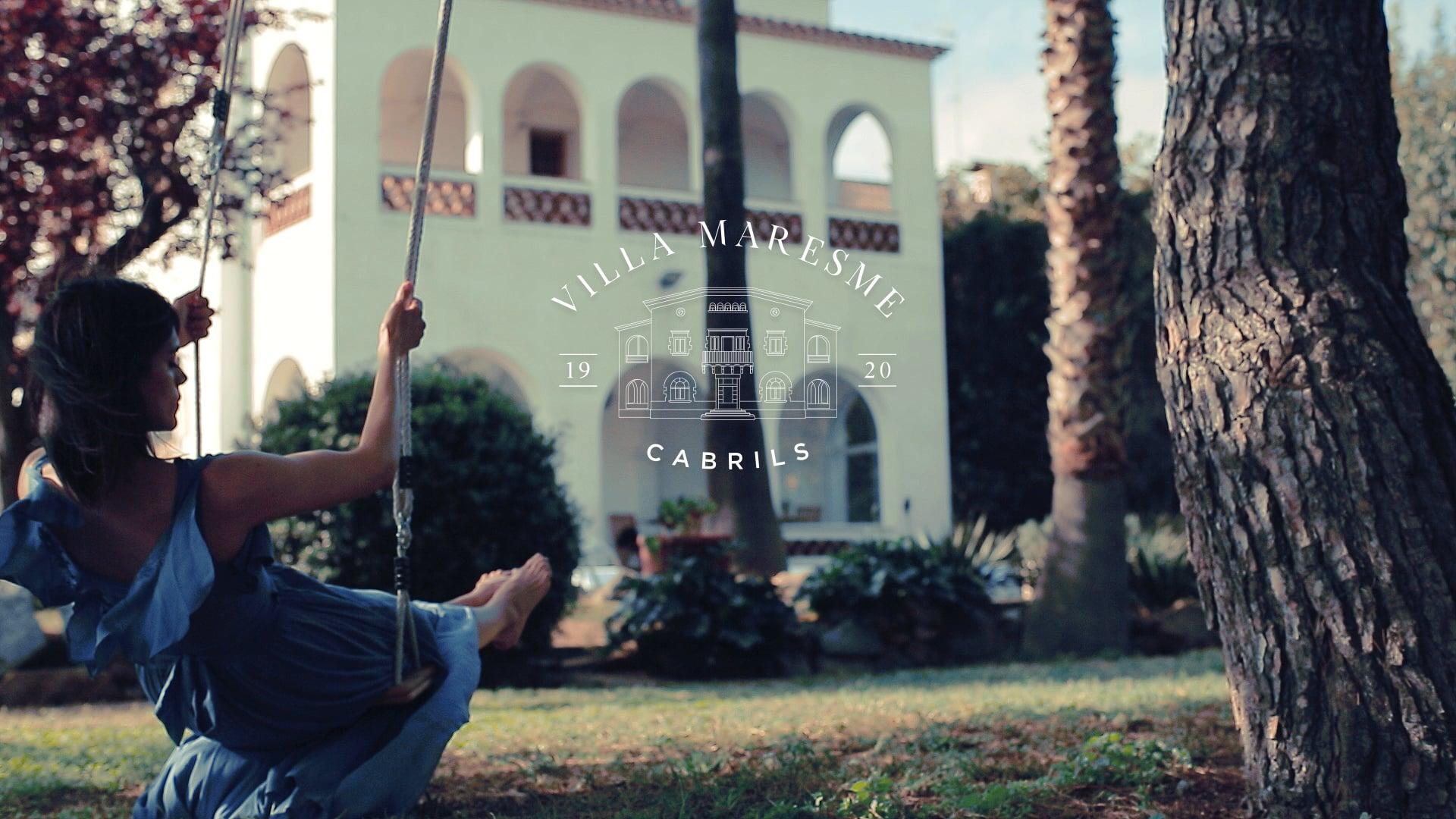 Branding video Villa Maresme Spain