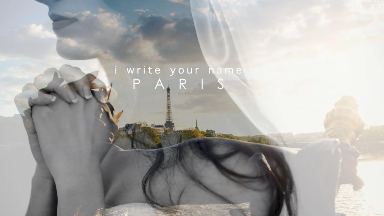 i write your name / wedding in PARIS