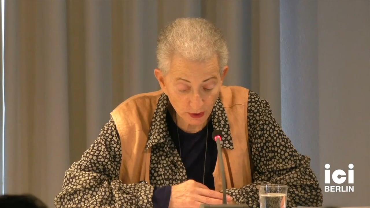 Talk by Helene Cixous