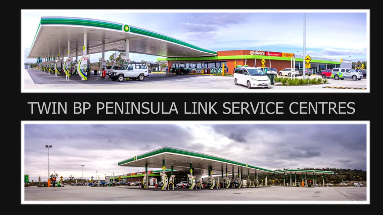 Peninsula link  service centres  time lapse