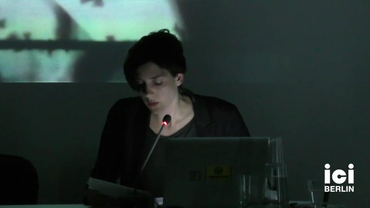 Talk by Filipa Cesar