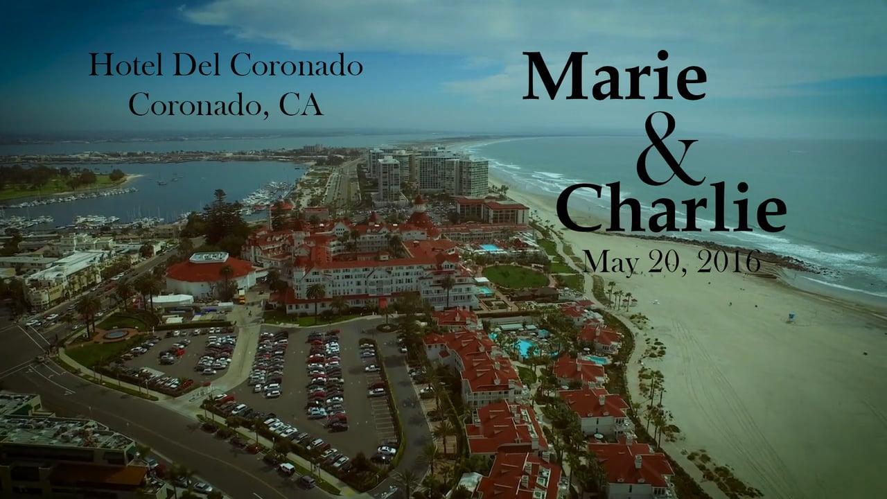 Hotel del Coronado Wedding with Marie and Charlie