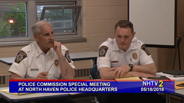 Police Commission Special Meeting - 05/18/2016
