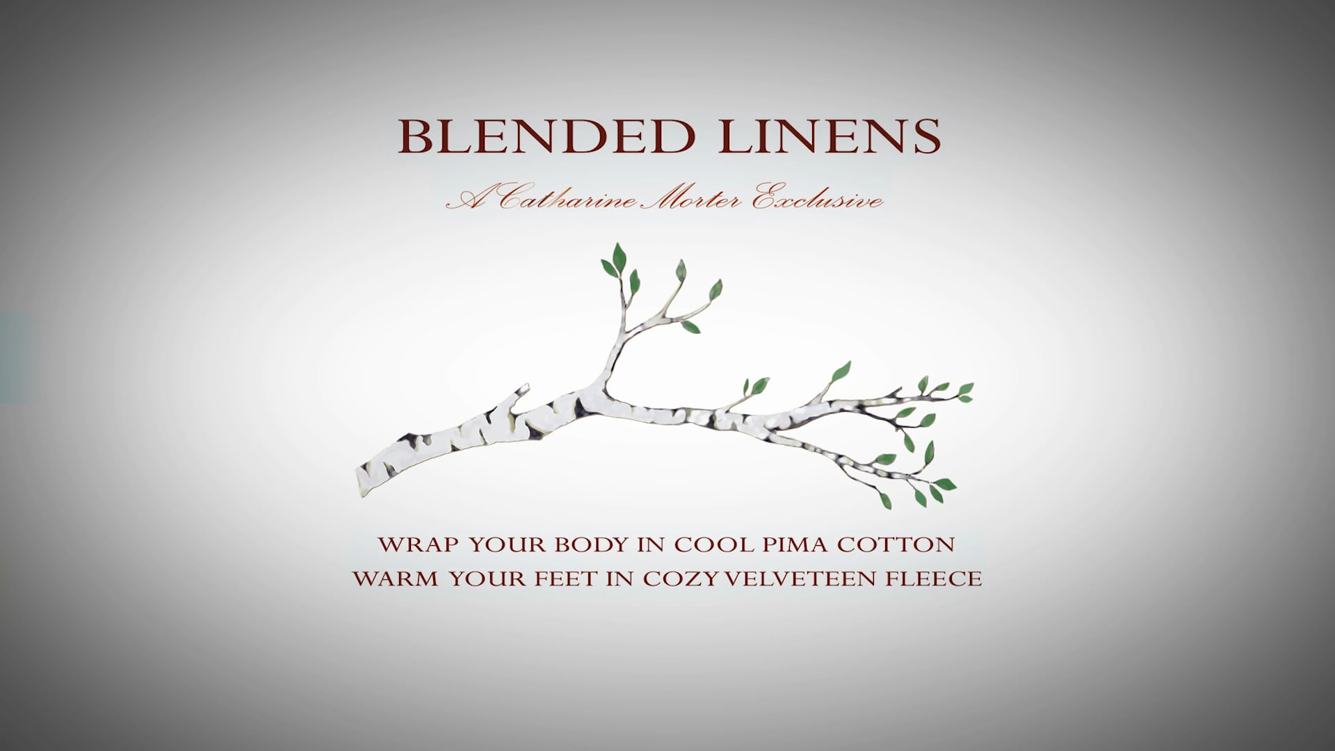 Blended Linens Promotional Video